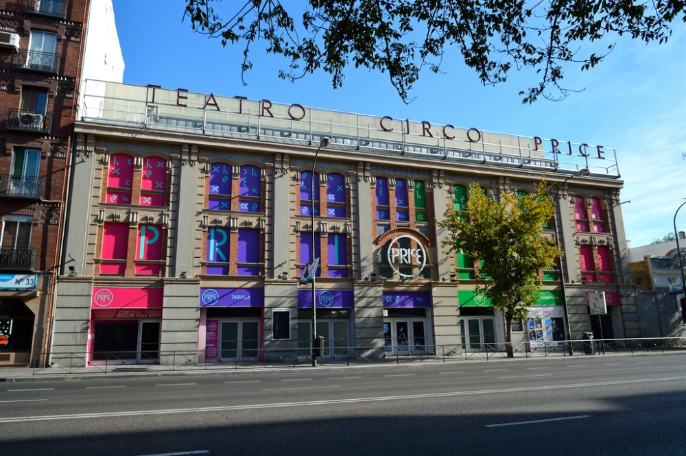 El nuevo Circo Price en la antigua fábrica de galletas Pacisa.